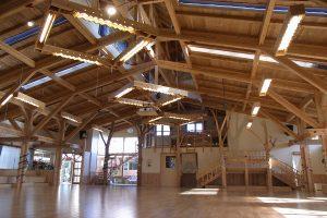 店舗、事務所、倉庫、福祉施設等の非住宅の木造化で期待のJAS構造材