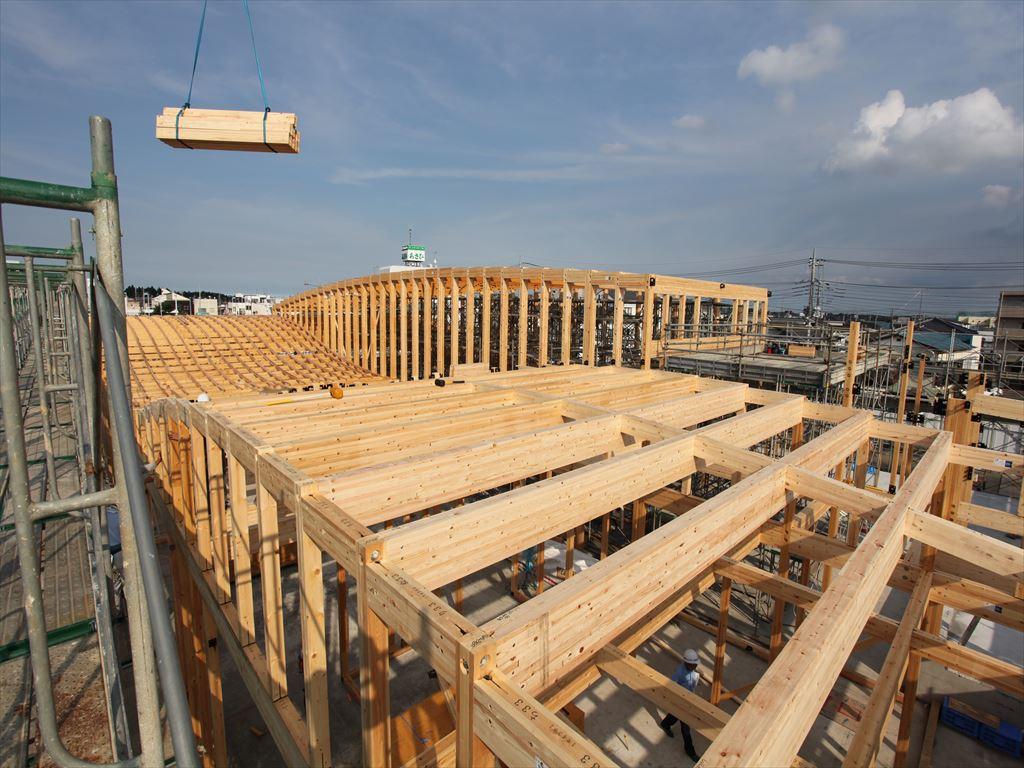 大規模木造で使い勝手の良い集成材構法のメリット