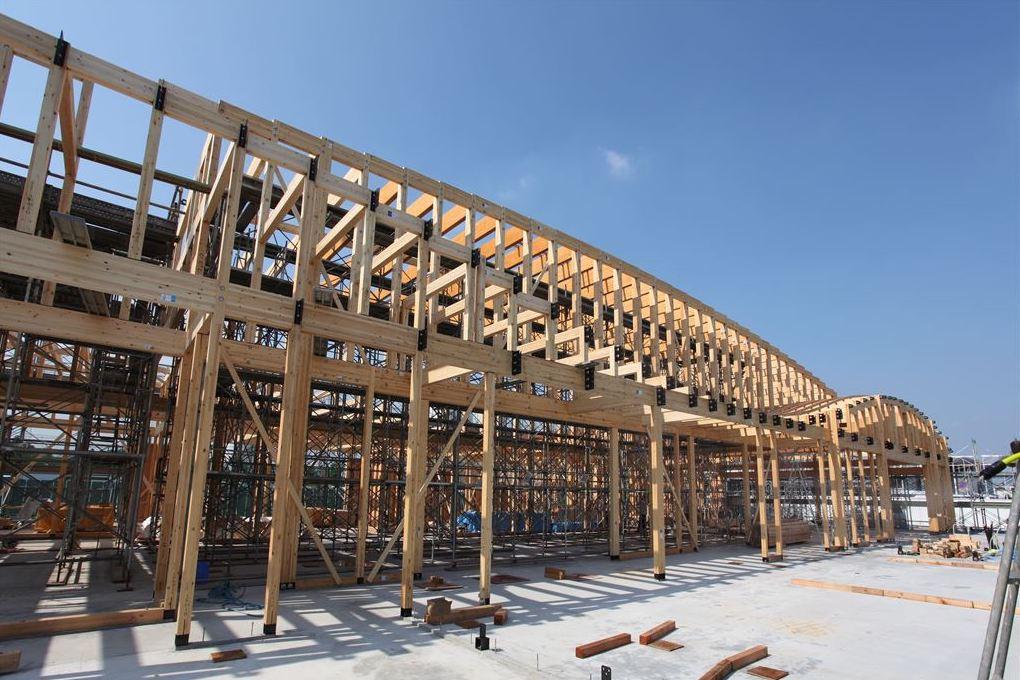 大規模木造をSE構法で実現するポイント