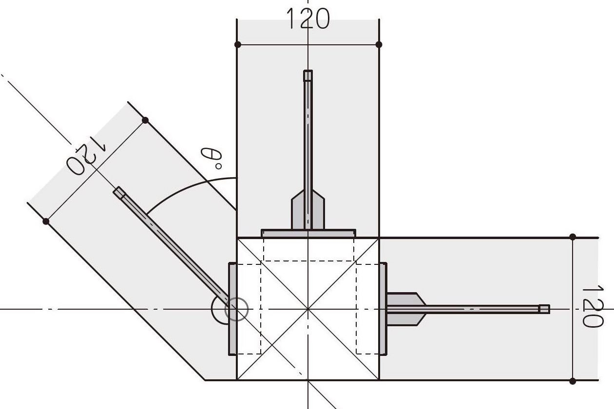 耐震構法SE構法は斜辺やR壁の平面計画に対応可能 -
