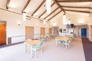 木造の特別養護老人ホームにおける内装制限、防火区画、立地制限