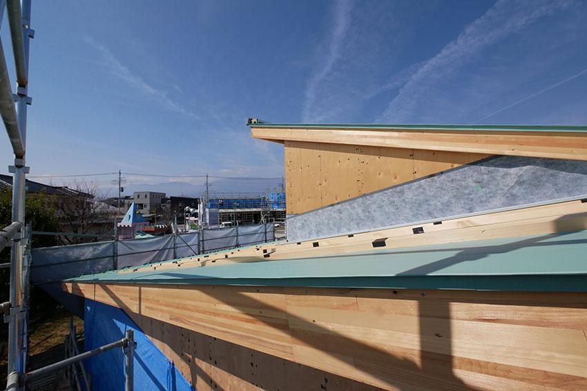 木造は屋根の雨仕舞いが重要