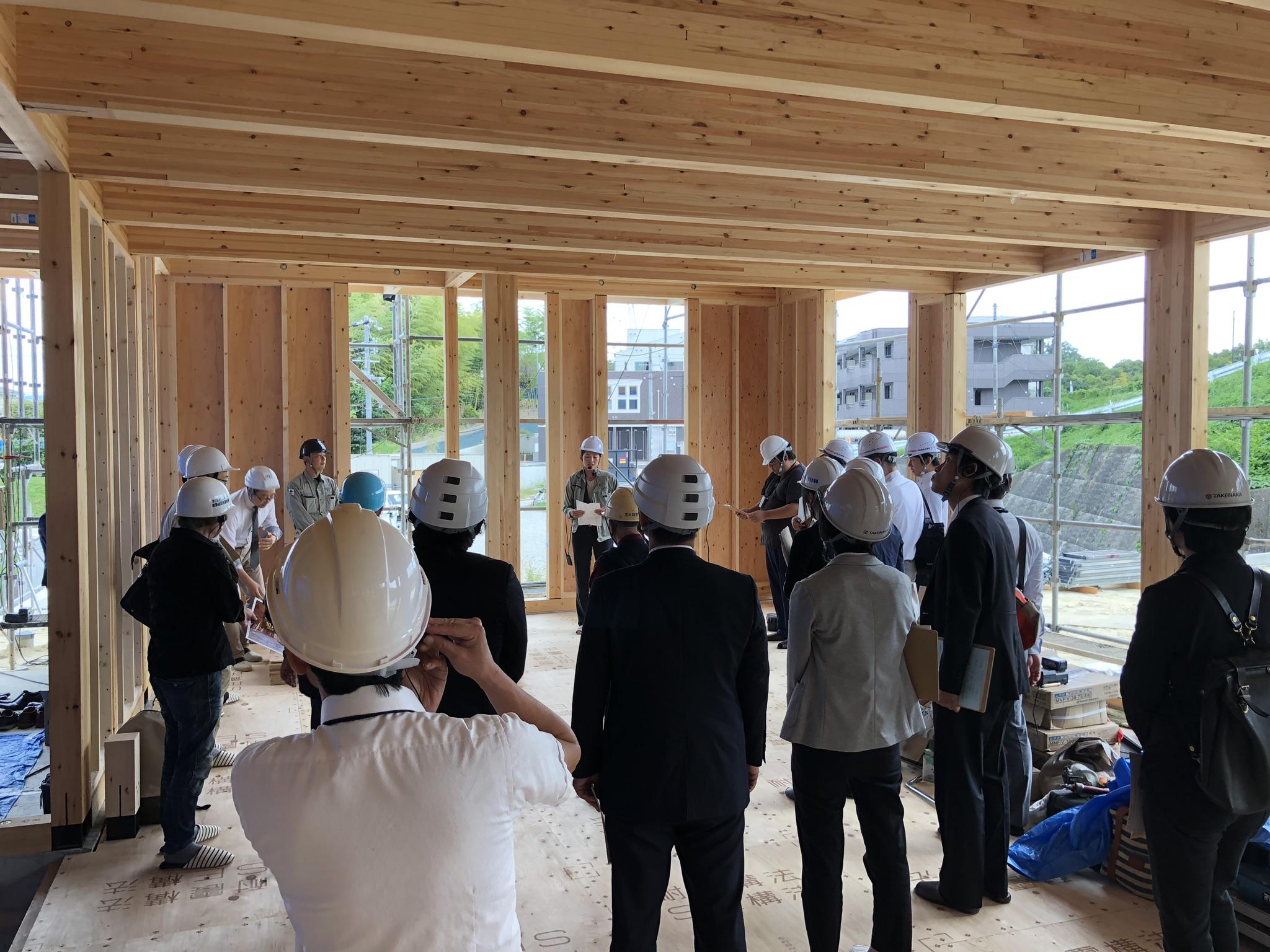 SE構法の大規模木造建築「保育園の構造現場見学会」を京都で開催 -