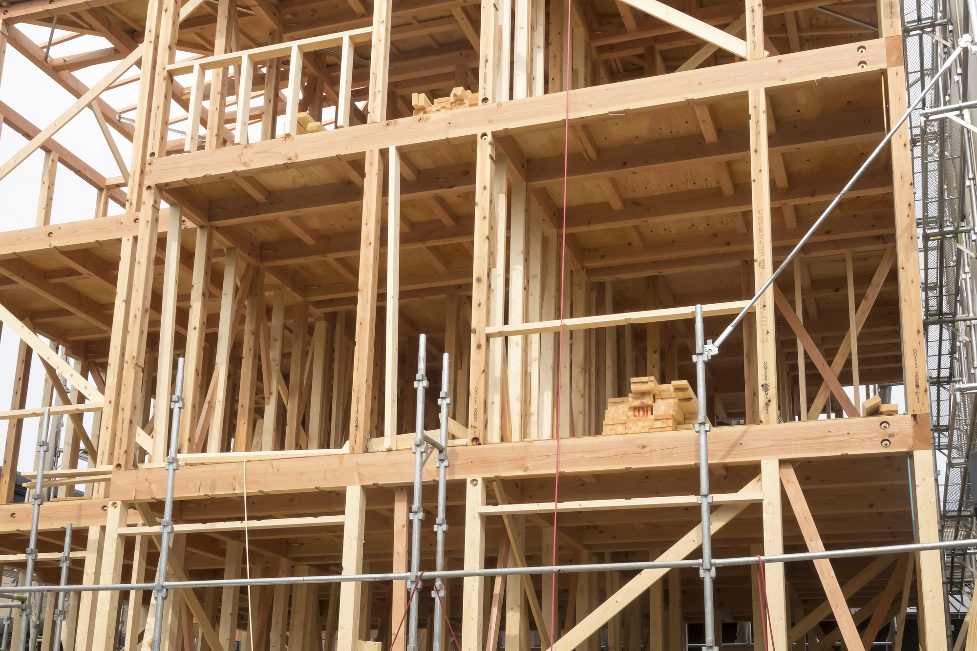 中大規模木造の構造躯体は一般用流通材を基本に考える