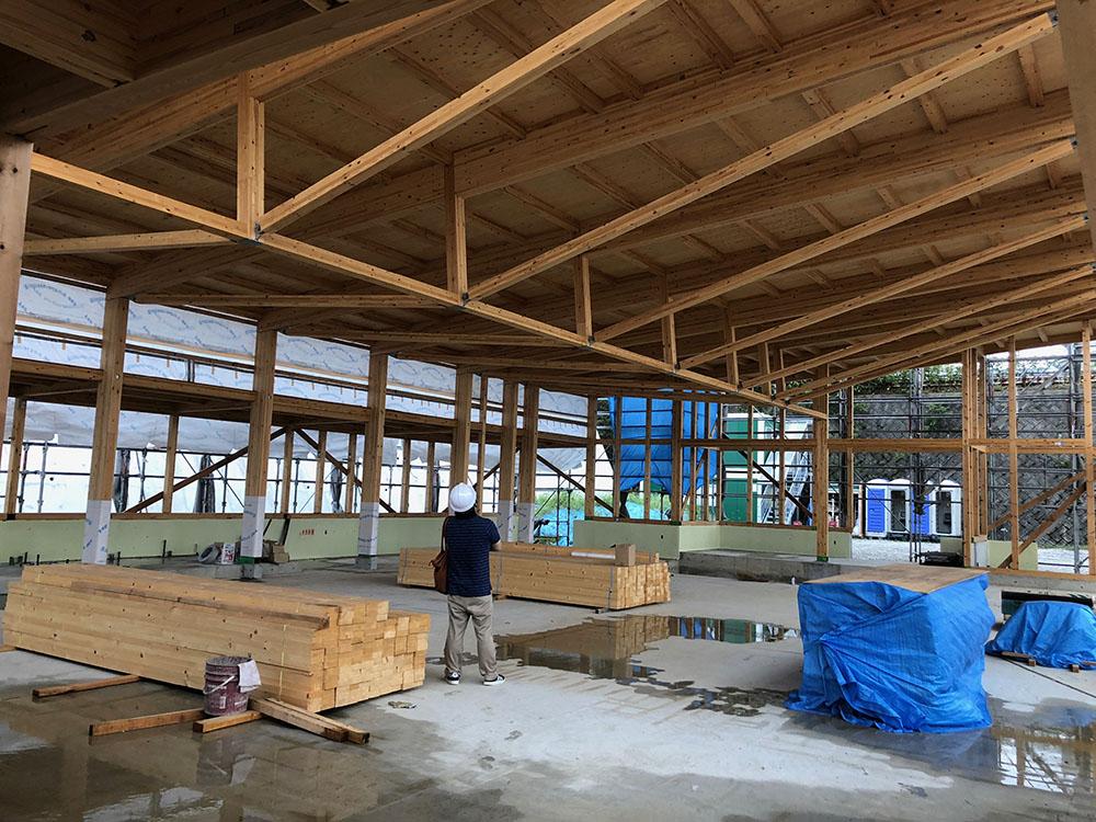 中大規模木造の構造躯体のコストダウン3:トラスと張弦梁