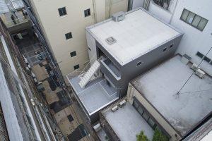 木造4階建てのSE構法の事務所ビルの事例紹介「ヤマサ製菓ビルハピア豊橋」
