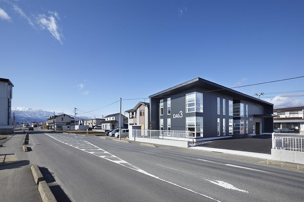 SE構法の事務所兼倉庫「DAI3福島営業所」の概要
