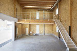 SE構法の事務所兼倉庫の事例紹介「DAI3福島営業所」