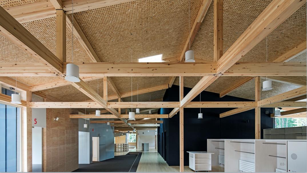 発注者向け木造化のメリット8:美しい木構造による企業イメージの向上