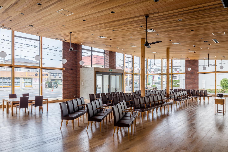 SE構法の宗教施設事例「弘教寺もんしんと会館」の構造設計の特徴