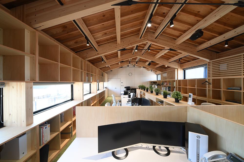 SE構法(混構造)の事務所事例「日新設計社屋」の概要