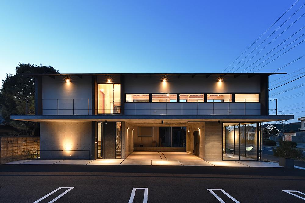 SE構法(混構造)の事務所事例「日新設計社屋」の意匠設計の特徴