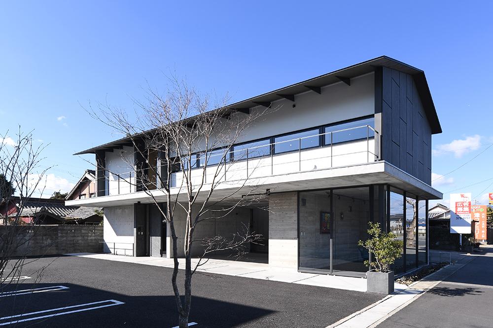 SE構法(混構造)の事務所の事例紹介「日新設計社屋」 -