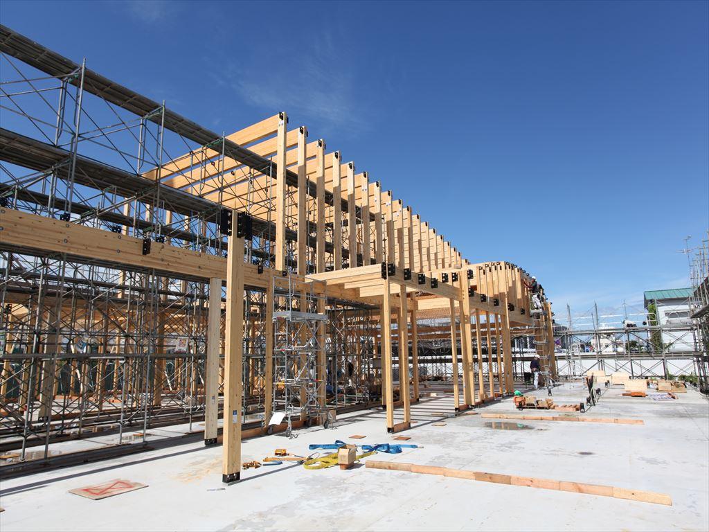 建設業界の現状から考える大規模木造(SE構法)と鉄骨造