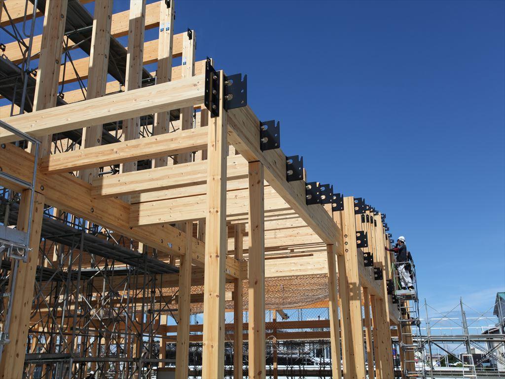 大規模木造として耐火建築物をSE構法で実現するポイント