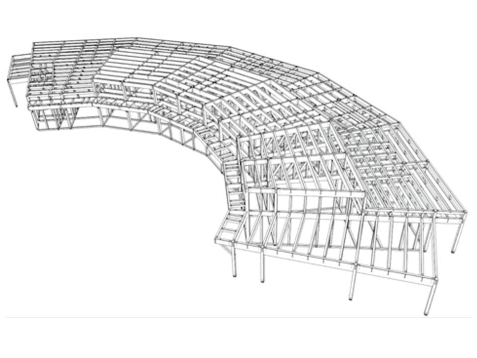 SE構法の企業内保育所「元気ひろば保育園」の構造設計の特徴