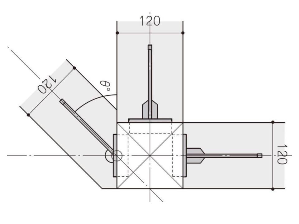 SE構法による平面斜辺の対応