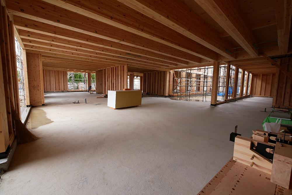 ESG投資の普及により発注者は建築物を木造で計画する傾向に