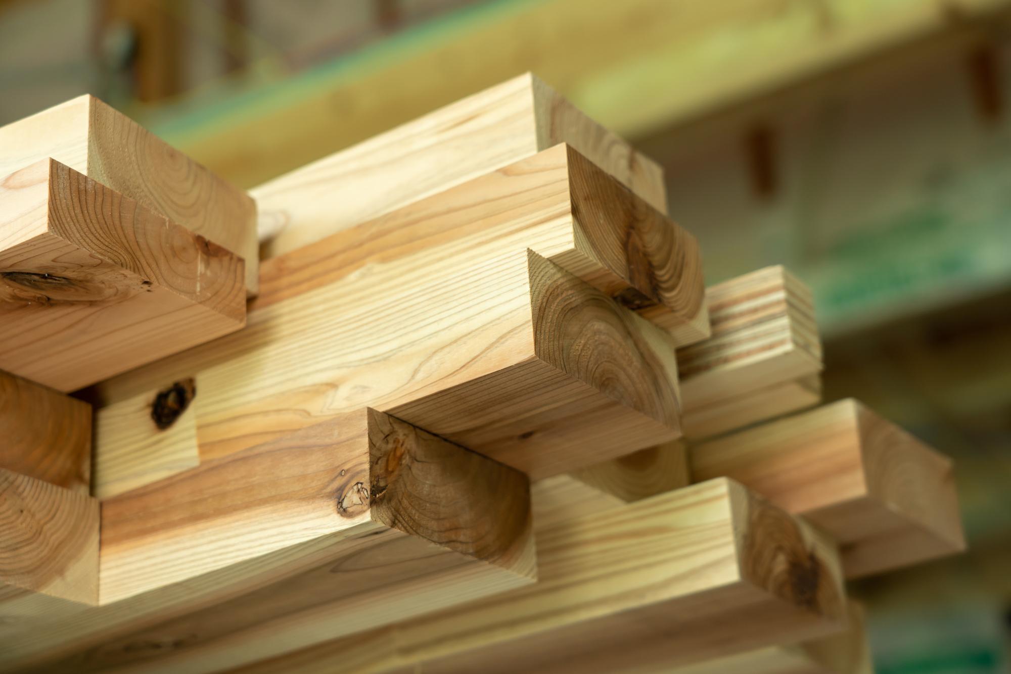 大規模木造で国産材を活用するメリット2:ウッドショック等のリスクに強い