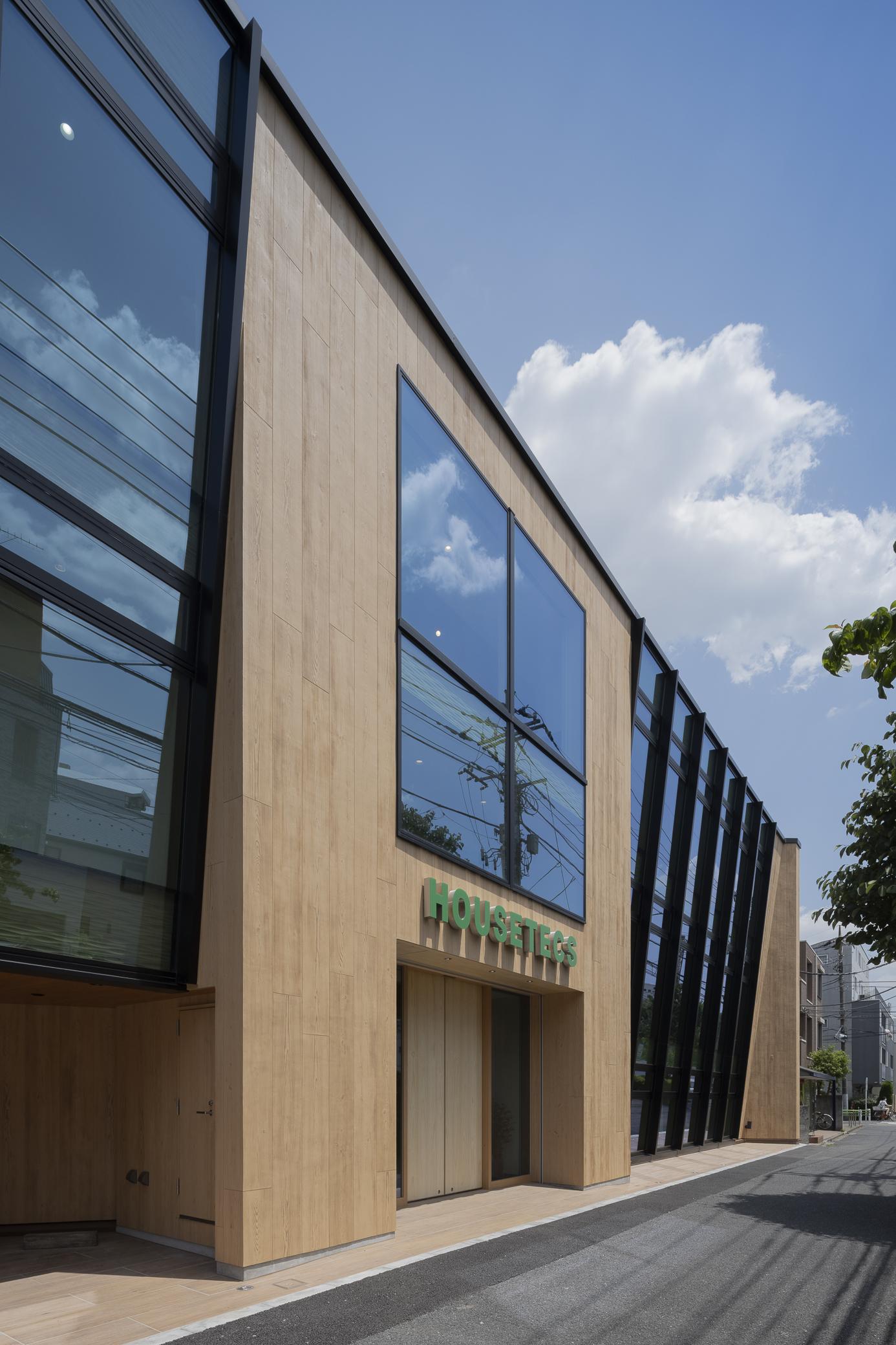 SE構法の事務所「ハウステックス東京本社ビル」の概要